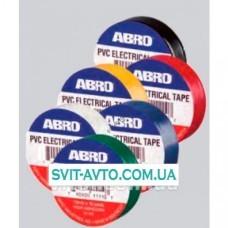 Изоляционная лента ABRO PVC Electrical Tape зелёная ET-912 G 19мм*9,1м