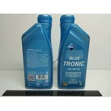 Масло моторное 10W-40 полусинтетическое ARAL Blue Tronic 1л