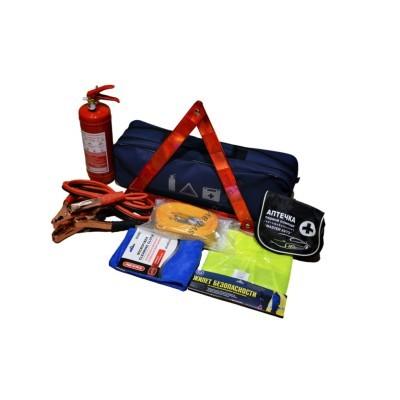 Автомобильный набор техпомощи AVTM (красный) - 1234567890NR
