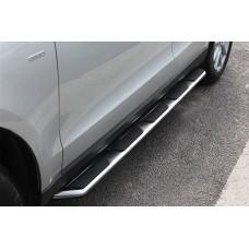 пороги боковые Audi Q3 2012-