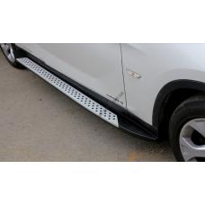 Пороги боковые BMW X1 2012-