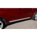 Пороги боковые BMW X3 2005-2011 - OEMST11005