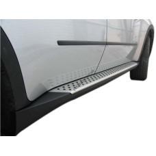 Пороги боковые BMW X3 2011-