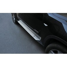 Пороги боковые BMW X5 2007-