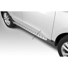 Пороги боковые Hyundai IX35 2010- стиль BMW