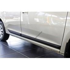 Молдинги дверей Renault Logan sd (2013-)