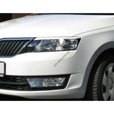 Ресницы передних фар Skoda Rapid 2012- - SRR2013