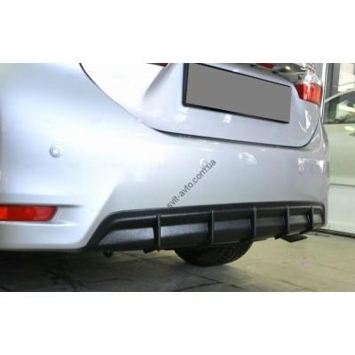 Накладка заднего бампера (диффузор) Toyota Corolla (2013-) - TCBZ2013