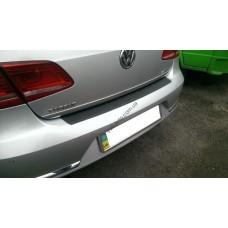 Накладка на задний бампер Volkswagen Passat B7 (2010-2016)