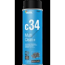 Bizol MultiClean+ c34, универсальный очиститель, 0,5L, BIZOL, 80012