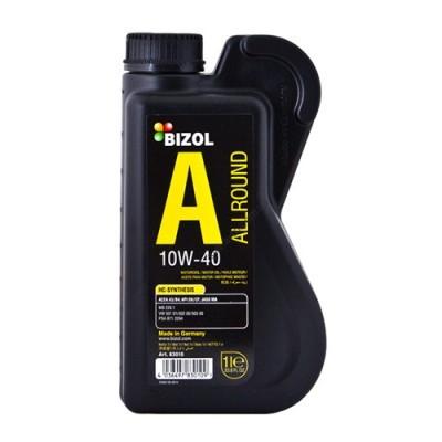 Полусинтетическое моторное масло -  BIZOL Allround 10W40 1л - B83010