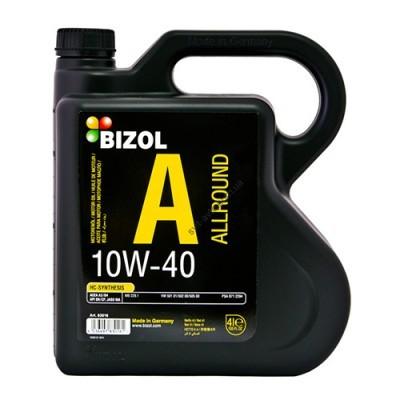 Полусинтетическое моторное масло -  BIZOL Allround 10W40 4л - B83016