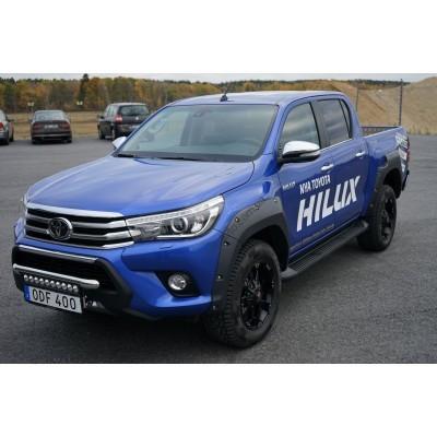 Расширители колесных арок Toyota Hilux 2015- Pocket style - FF239380