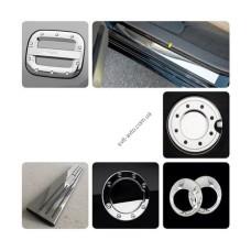 Hyundai Accent 2006-2011 Накладки на зеркала (пластик) 2шт