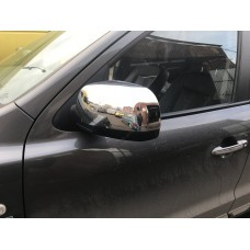 Hyundai Santa Fe (2006-2012) Накладки на зеркала (пластик) 2шт
