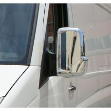Mercedes Sprinter W906/Volkswagen Crafter (2006-) Накладки на зеркала 2шт