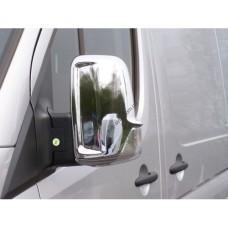 Mercedes Sprinter W906/Volkswagen Crafter (2006-) Накладки на зеркала (пластик) 2шт