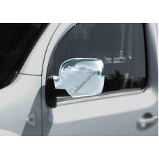 Renault Kangoo 2008-2013 Накладки на зеркала (пластик) 2шт