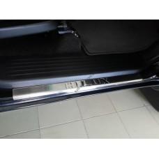 Toyota Hilux 2005-2015 Накладки на порожки 4шт
