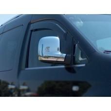 Volkswagen Caddy 2010-/2015-/ Volkswagen T5 2003- Накладки на зеркала 2шт
