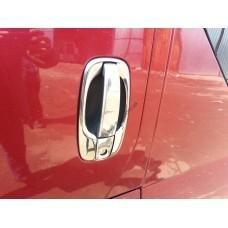 Renault Trafic/Opel Vivaro/Nissan Primastar 2001-2014 Обводка ручек 4шт