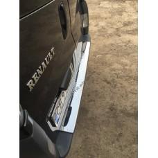 Renault Trafic/Opel Vivaro/Nissan Primastar 2001-2014 Накладка на задний бампер