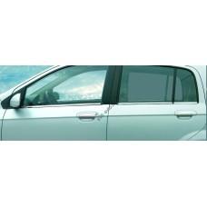 Hyundai Getz (2002-2009) Молдинги стекол нижние 6шт