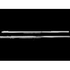 Dacia/Renault Dokker (2012-) Молдинги стекол нижние 2шт
