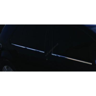 Volkswagen Bora 1998-2003 Молдинги стекол 2шт - 6450401