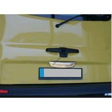 Renault Trafic 2001-2014 Планка над номером нижняя с лого