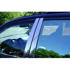 Toyota Prado 120 2003-2005 Накладки дверных стоек 8шт