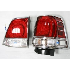 Toyota Land Cruiser 200 2007-2012 Накладки на стопы (пластик) 4шт