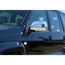 Toyota Prado 120 2003-2009 Накладки на зеркала 2шт