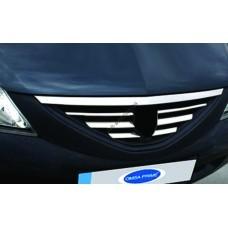 Dacia/Renault Logan (2008-2012) Накладки на решетку радиатора 7шт