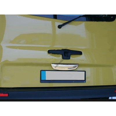 Opel Vivaro 2001-2014 Планка над номером с лого - 6458126
