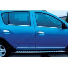 Dacia/Renaul Logan/Sandero (2013-) Накладки на ручки 4шт