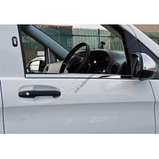 Mercedes Vito W447 (2014-) Молдинги стекол нижние 2шт