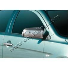 Mitsubishi Lancer X (2007-) Накладки на зеркала 2шт