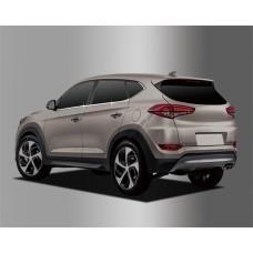 Hyundai Tucson (2015-) Нижний молдинг стекла 4шт