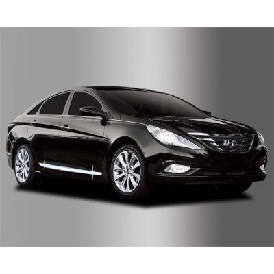 Hyundai Sonata (2009-2015) Нижний молдинг дверей 4шт. - AC B669