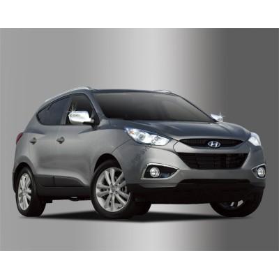 Hyundai ix35 (2008-) Накладки на зеркала с повторителем 2шт - AC B691