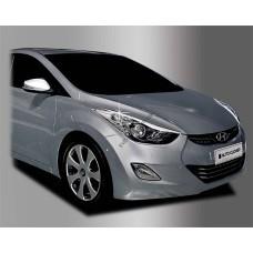 Hyundai Elantra (2011-) Окантовка фар 2шт