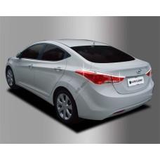 Hyundai Elantra (2011-2012) Накладки на стопы 4шт