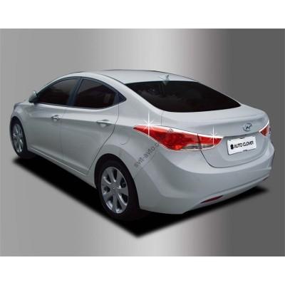 Hyundai Elantra (2011-2012) Накладки на стопы 4шт - AC B701