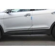 Hyundai Santa Fe (2012-) Нижний молдинг дверный 4шт