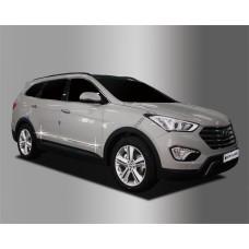 Hyundai Santa Fe Grand (2013-) молдинги дверные 4шт