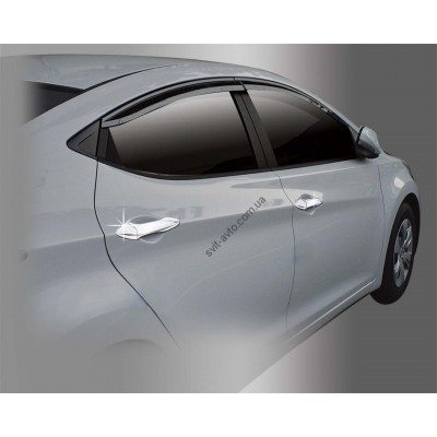 Hyundai Elantra (2011-) Накладки на ручки 8шт - AC B811