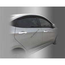 Hyundai Accent (2011-) Накладки на ручки 8шт