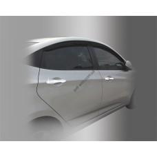 Hyundai Accent (2011-) Накладки на ручки умный ключ