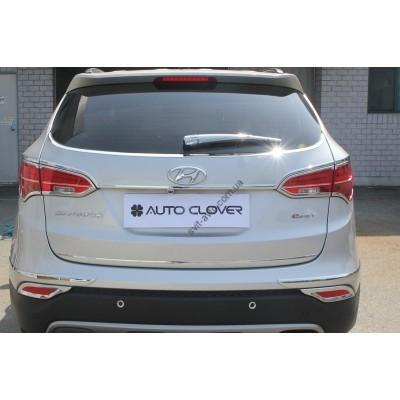 Hyundai Santa Fe (2012-) Окантовка парктроника+накладка на дворник 6шт - AC C279